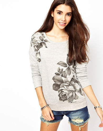 Only Floral Sweat Top