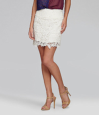 Gianni Bini Elvis Lace Skirt