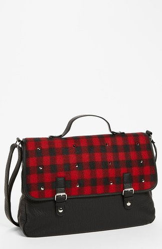 Fantasia Accessories Messenger Bag (Girls) Red Plaid