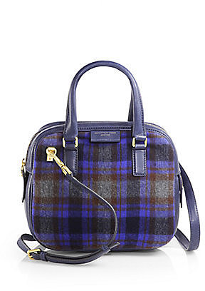 Marc by Marc Jacobs Plaid Show Group Clover Satchel