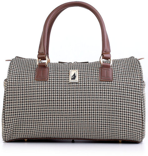 "London Fog Satchel, 16"" Chelsea Lites 360°"