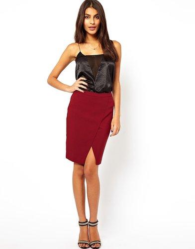 ASOS Pencil Skirt with Wrap