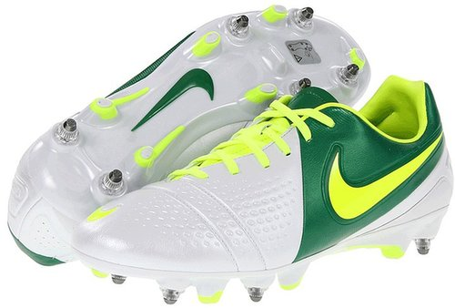 Nike - CTR360 Trequartista III SG-PRO (White/Court Green/Volt) - Footwear