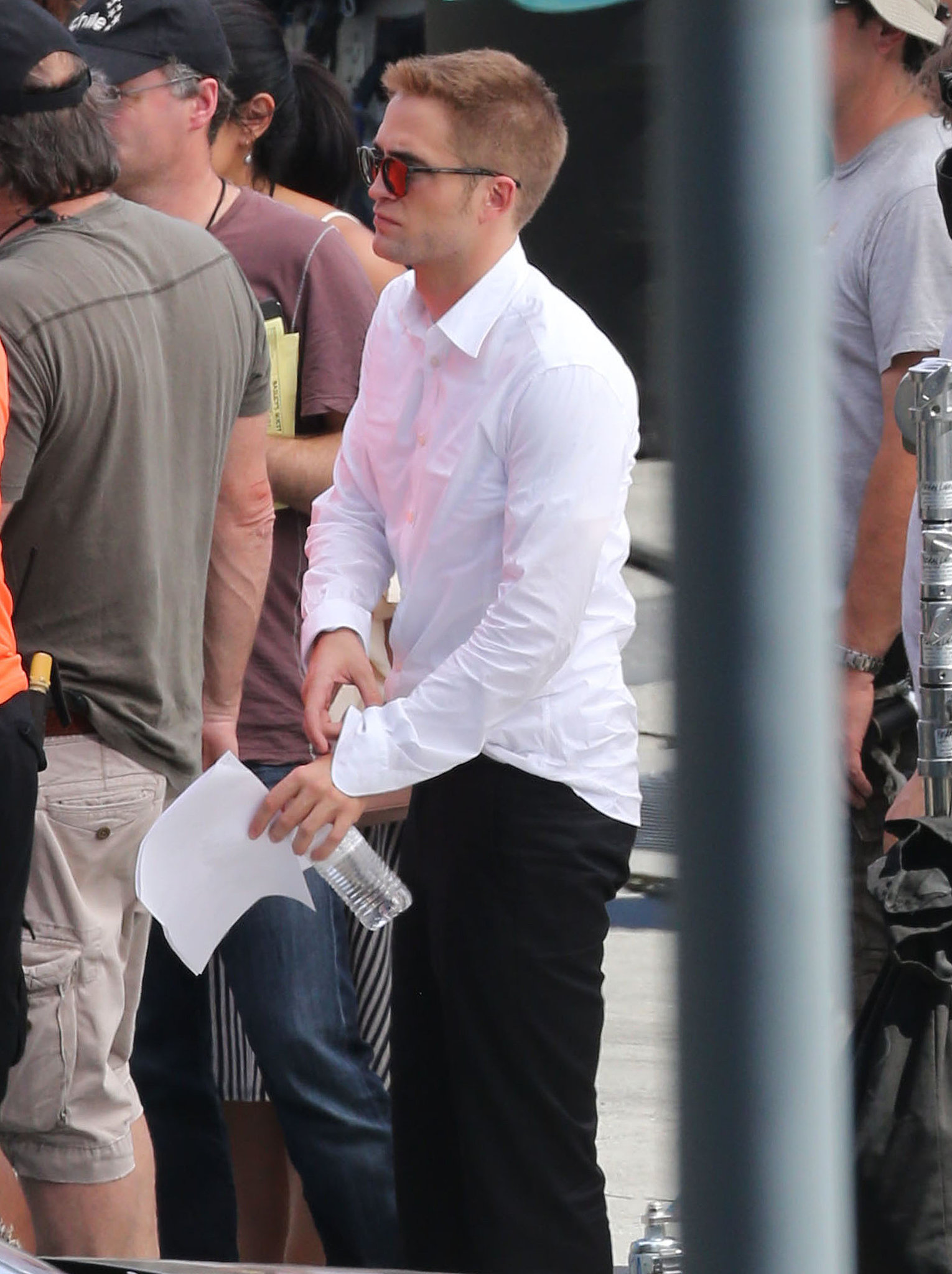 Robert Pattinson's Sexy Kiss With Mia Wasikowska May Be Too Hot to Handle