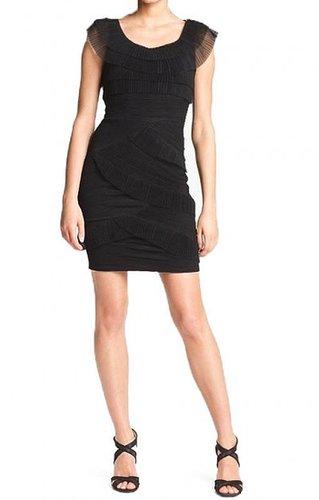 BCBG BRIANA COCKTAIL DRESS BLACK