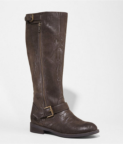 Distressed Riding Boot