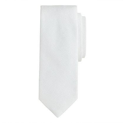 Cotton piqué tie