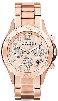 Marc by Marc Jacobs Metal Rock Ladies Rose Goldtone Watch