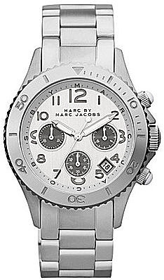 Marc by Marc Jacobs Metal Rock Ladies Silvertone Watch