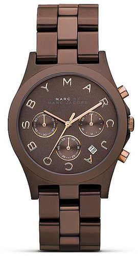 MARC BY MARC JACOBS Henry Chronograph Bolt Watch, 40mm