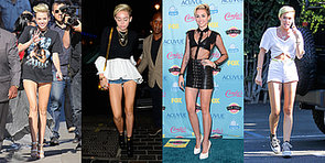 Miley Cyrus Can't Stop Showing Skin