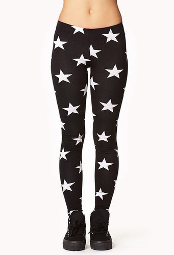FOREVER 21 Shining Star Leggings