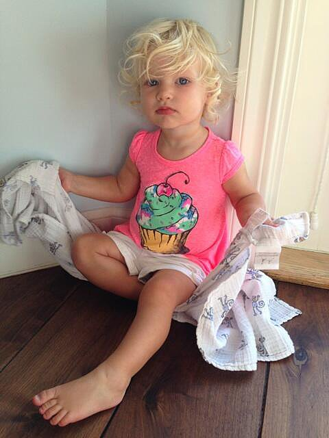 """Jessica Simpson posted a photo of her """"crazy beautiful"""" daughter, Maxwell. Source: Twitter user jessicasimpson"""