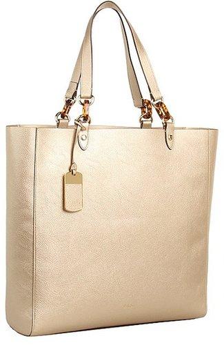 LAUREN Ralph Lauren - Bembridge N/S Tote (Gold) - Bags and Luggage