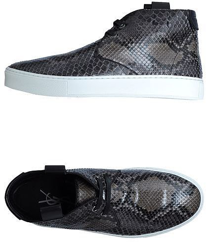 YVES SAINT LAURENT RIVE GAUCHE High-top trainers
