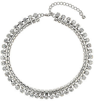 Pretty rhinestone necklace