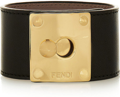 Fendi Leather cuff