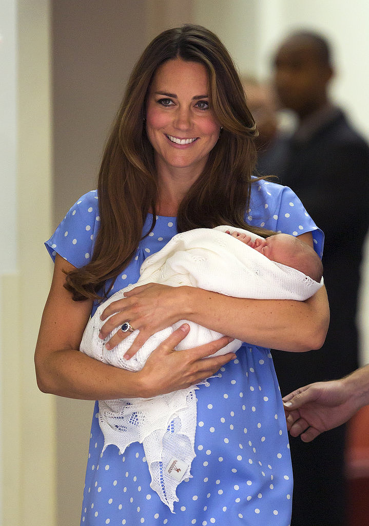 While leaving the maternity ward in July, Kate showed off some of the best hospital hair we've ever seen.