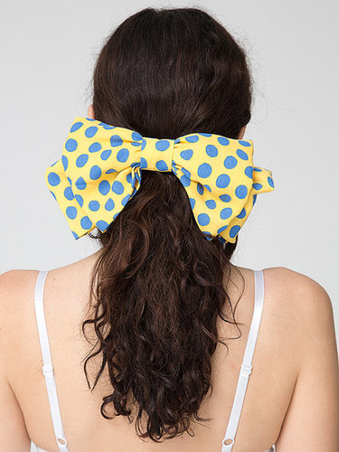 California Select Original Polka Dot Oversized Bow Hair Clip