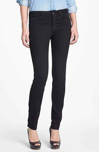 Wit & Wisdom Skinny Jeans (Black) (Nordstrom Exclusive) Womens Black Size 0 0