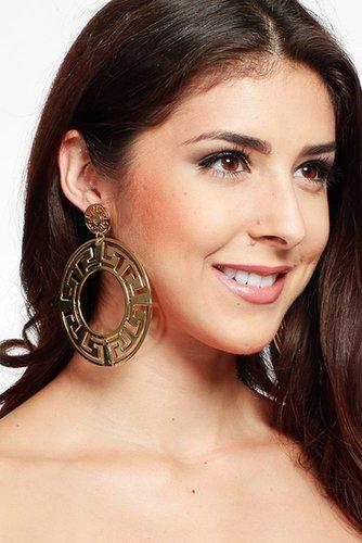Cut Out Aztec Inspied Earrings