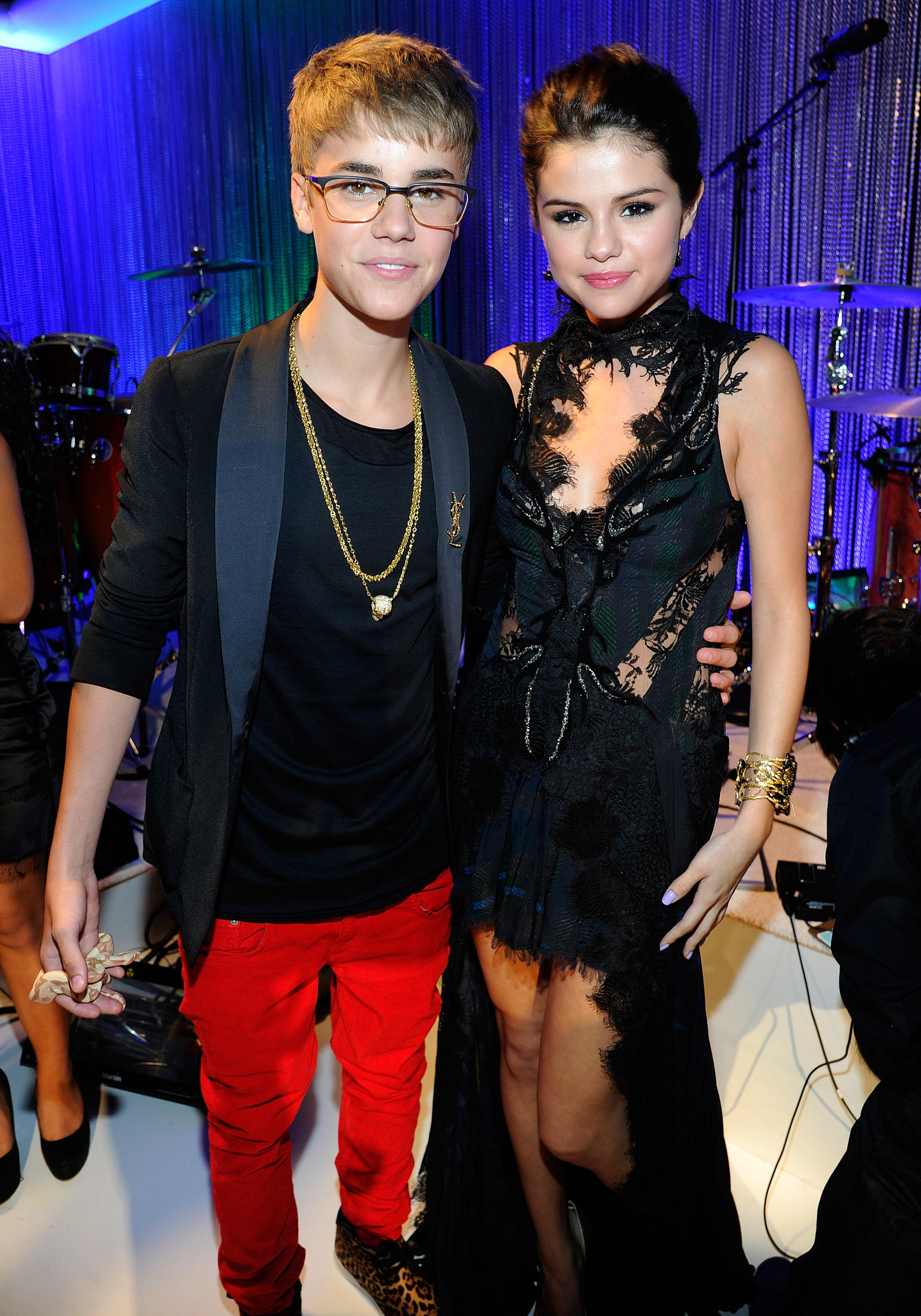 In 2011, Justin Bieber and Selena Gomez were coupled up on the red carpet.