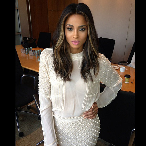 Ciara looked white-hot while promoting her new collaboration with Degree in NYC. Source: Instagram user ciara