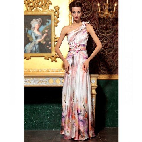 Print Satin dress