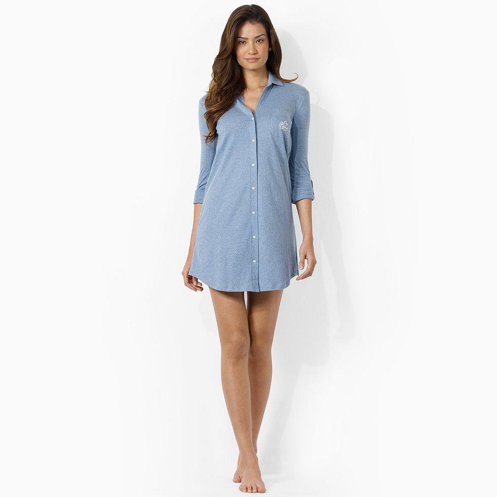 Lauren by Ralph Lauren Cotton Jersey Sleep Shirt