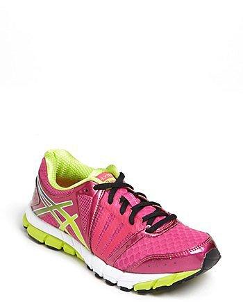 ASICS 'GEL-LYTE33 2' Running Shoe (Women) Raspberry/ Lime/ White 5 M