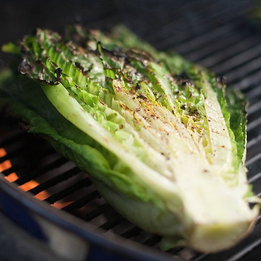 How to Grill Greens Like Lettuce and Chard