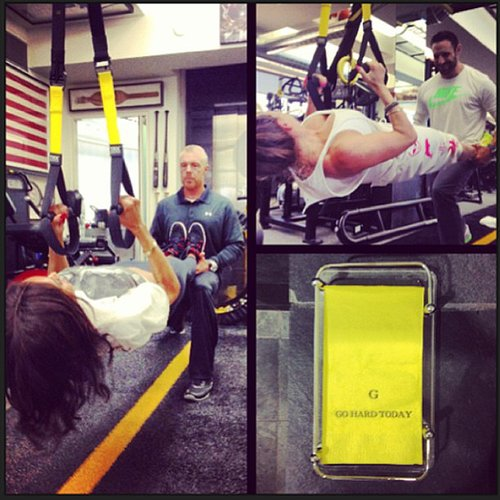 It looks like Ciara is also a fan of trainer Gunnar Peterson. The singer recently worked out at the trainer's gym.