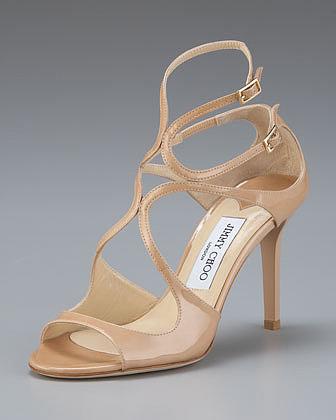 Jimmy Choo Ivette Patent Sandal