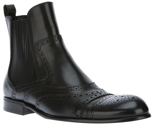Dolce & Gabbana Brogue boot