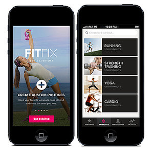 POPSUGAR Fitness App FIT FIX