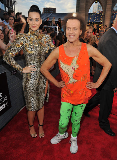 Katy-Perry-joined-Richard-Simmons-VMAs-red-carpet