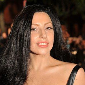 2013 MTV VMAS Lady Gaga Jet Black Hair