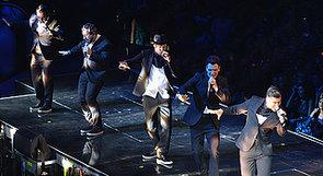 NSYNC VMAs 2013 Reunion Performance Costumes