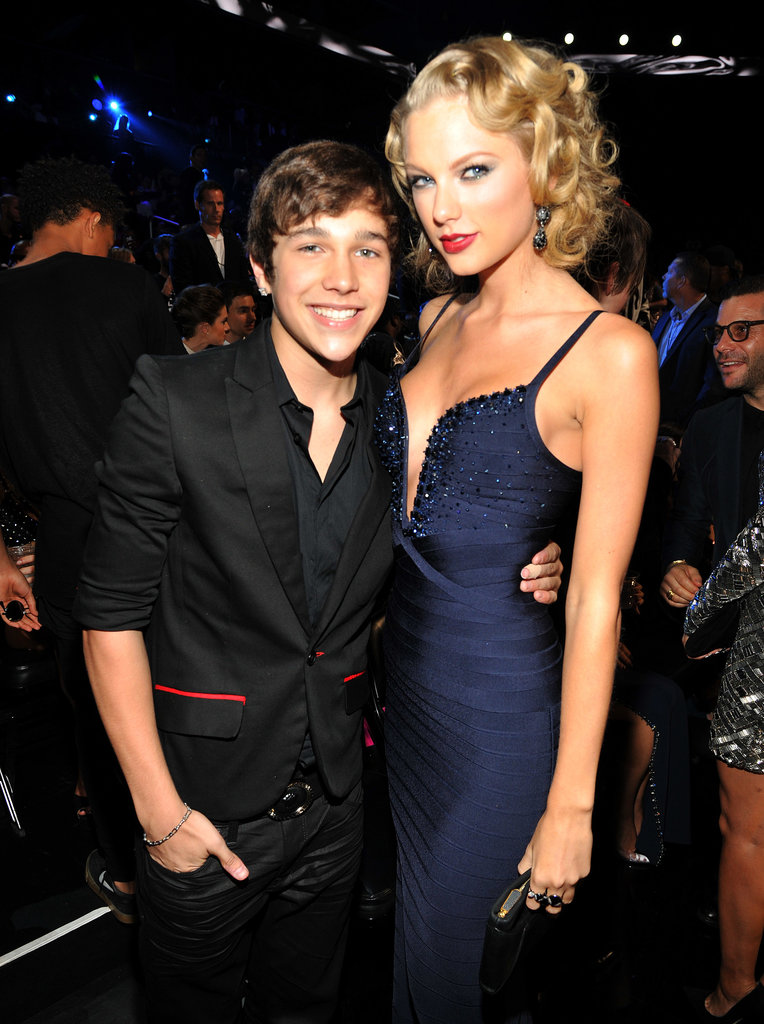 Taylor Swift got together with Austin Mahone inside the awards.
