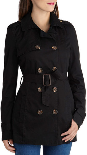 Classic and Chic Trench in Black