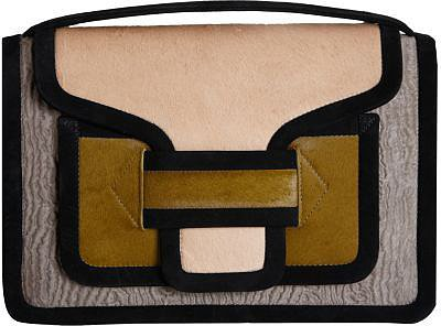 Pierre Hardy Calf Hair CV04 Clutch