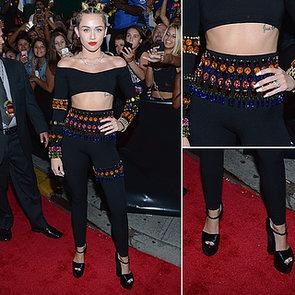 2013 MTV VMAs: Miley Cyrus in Vintage Dolce and Gabbana