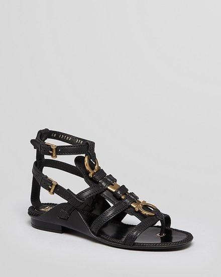 Salvatore Ferragamo Gladiator Sandals - Sharise