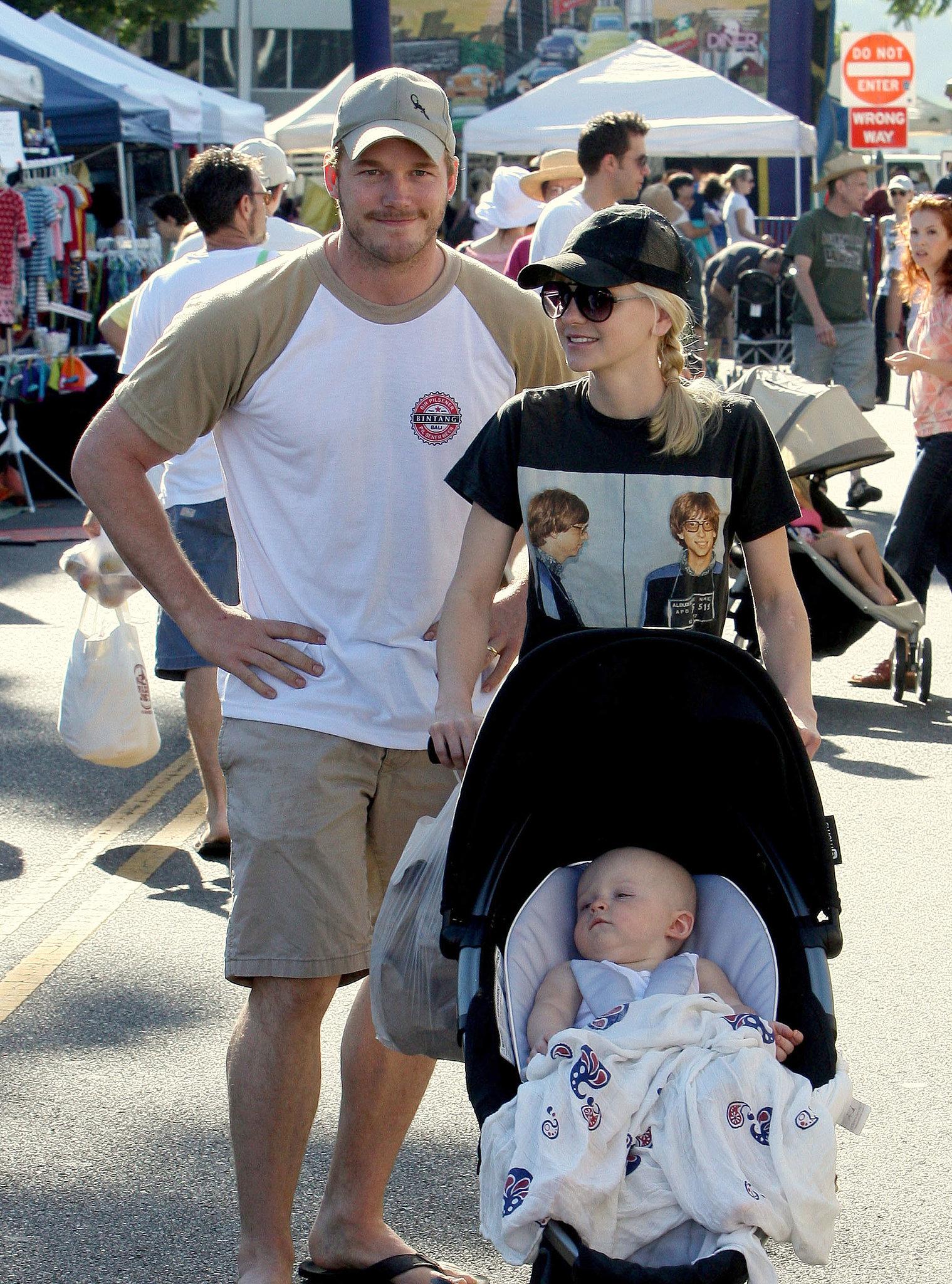 Anna Faris and chris pratt baby