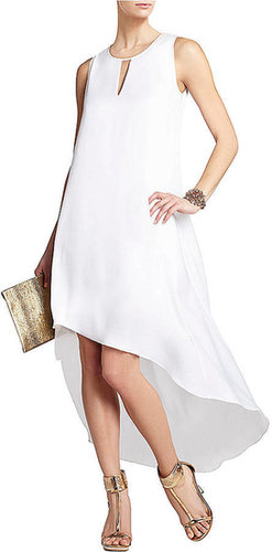 BCBGMAXAZRIA Willow Asymmetrical Hem Dress