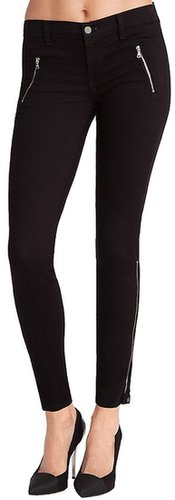 J Brand J Brand 1446 Carey Cropped Moto Capri in Black-SALE!!