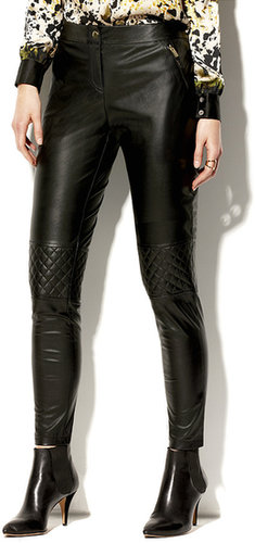 Quilted Zipper Pant