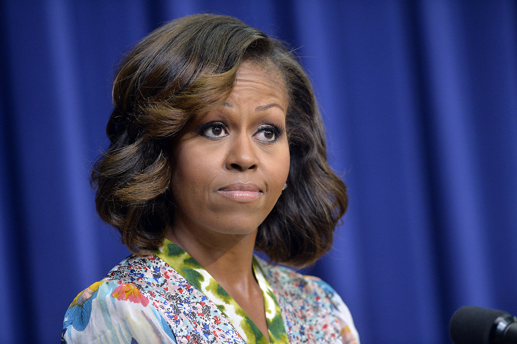 Michelle Obama spoke at the screening for The Powerbroker: Whitney Young's Fight For Civil Rights in Washington DC.