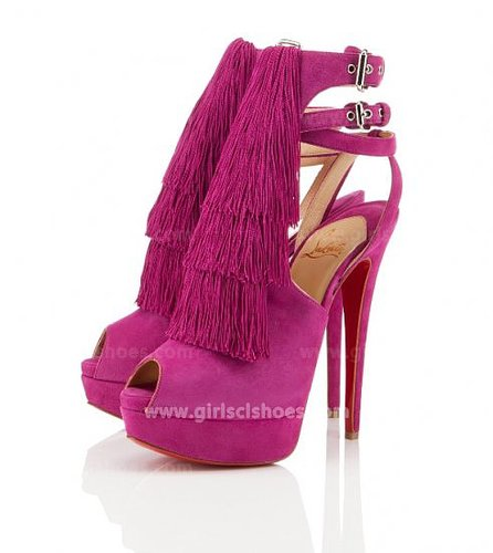 Red 2013 Christian Louboutin Change Of The Guard 150mm Affordable