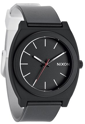 Nixon - Time Teller P - Black / White Fade